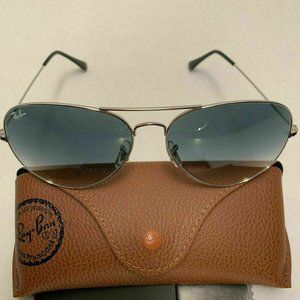 🦋Ray-Ban RB3026 Silver Frame Gray Gradient Lens
